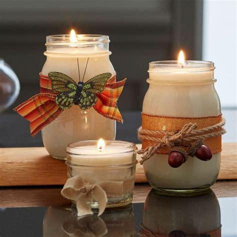 fascinating diy candle holders   spirit   fall