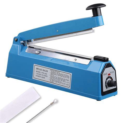 manual impulse heat sealer poly bag machine plastic bag closer ebay