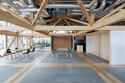 Substrate Factory Aki Architecture Ayase Flexible Building