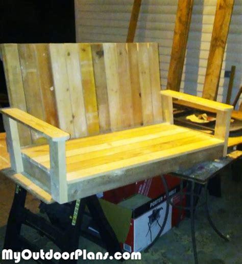 diy glider bench myoutdoorplans  woodworking plans