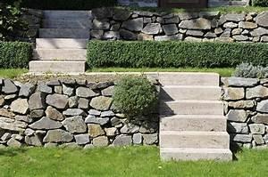 Gartengestaltung Mit Natursteinen : garten ideen f r deine terrassengestaltung 12 blockstufen aus travertin zum treppenbau im garten ~ Markanthonyermac.com Haus und Dekorationen