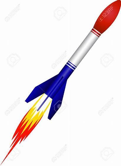 Rocket Missile Clipart Launch Vector Clip Cliparts