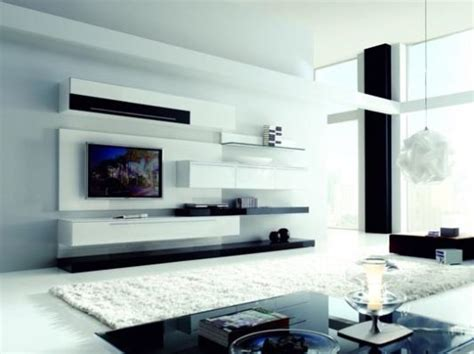 Living Room Ideas With Beautiful Wall Units by Living Room Decoration With Modern Wall Unit By
