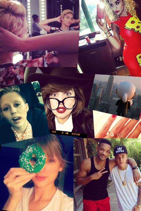 celebrity selfies   year  celebrity
