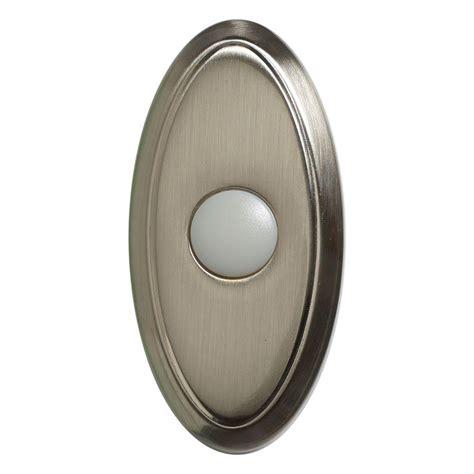 wireless door bells wireless door bell push button brushed nickel 216592