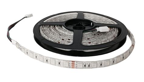 16 ft led light strip novabright 24v 5050smd color changing rgb super bright led