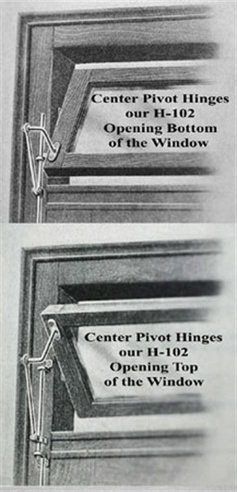 vintage hardware lighting transom window pivot hinges set
