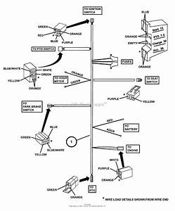 Wiring Diagram For 917 288612 Sears Mower