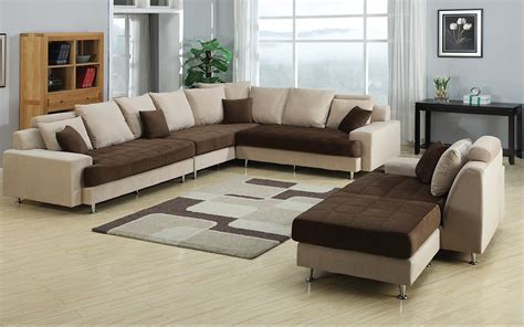 two tone leather sectional sofa joice modern two tone sectional sofa