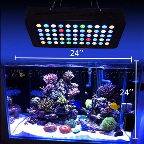Led Lights For Reef Tank by 165w Led Aquarium Light Dimmable Reef Coral Grow Tank L