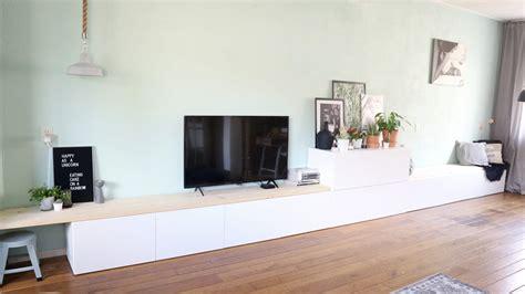 Ikea Besta 2-in-1 Zitbank + Tv Meubel