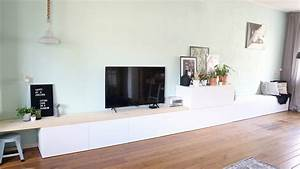 Ikea Hack Besta : ikea besta hack ikea besta 2 in 1 zitbank tv meubel interiorqueen ~ Markanthonyermac.com Haus und Dekorationen