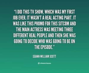 Seann William Scott Quotes. QuotesGram