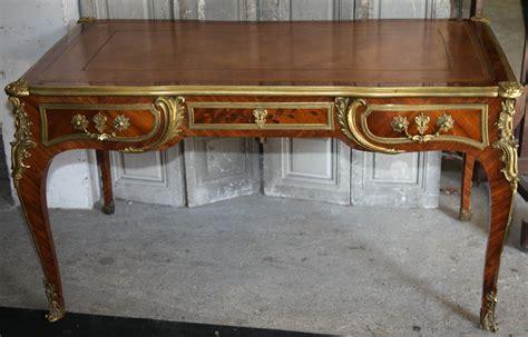 bureau de style bureau plat de style louis xv circa 1880