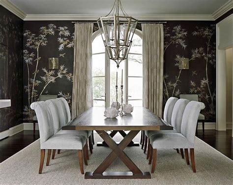 bamboo dining room wallpaper decoist