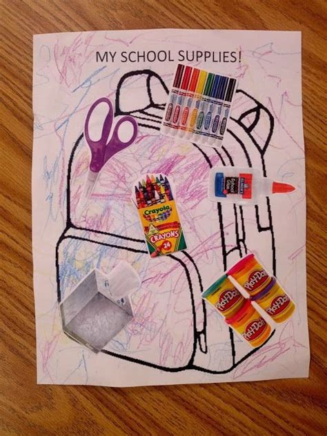 my school supplies backpack free great for 817 | f3d28dca2e8c321a91d40ab12b8446da autism preschool autism art