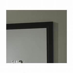 Miroir 180 Cm : miroir de salle manger 180 cm laqu noir solene matelpro ~ Teatrodelosmanantiales.com Idées de Décoration