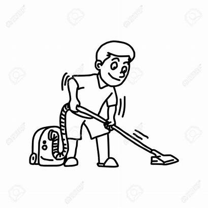 Cleaner Cleaning Clipart Vacuum Drawing Using Getdrawings