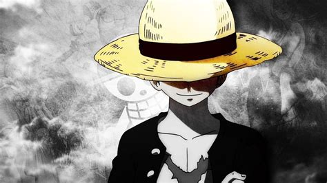 monkey  luffy hat anime boy  piece wallpaper