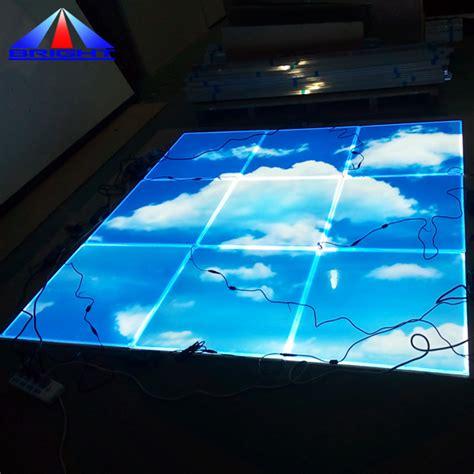 Led Panel Bild by Design Custom Blue Sky Cloud Led Panel Light 595 595mm Led