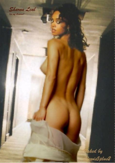 Sharon Leal  nackt