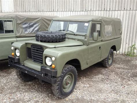 land rover series iii  lhd lwb soft tops petrol