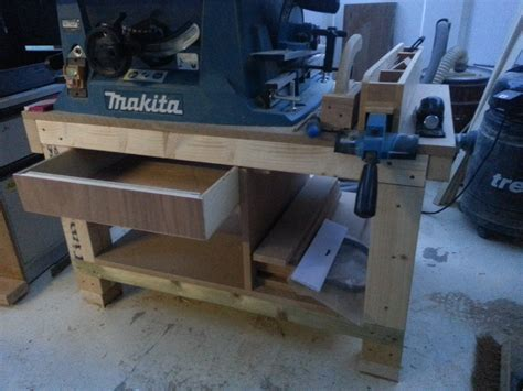 make a table saw table how to build a cheap table saw stand from scrap pt1 youtube