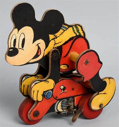 Mickey Mouse Motorcycle Chad Toy Valley Windup