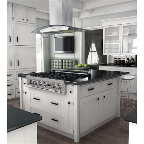 kitchen range designs zline 36 quot island range gl5i 36 the range 5547