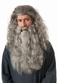 Rubie's The Hobbit Thorin Hair Kit, Black/Gre…