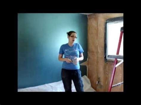 how to smooth out popcorn ceiling youtube