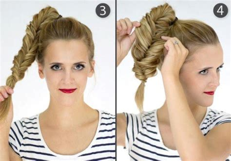 14 Simple Step By Step Tutorials For A Perfect Hairstyle In A Few Minutes How To Make Hairstyles For Short Hair At Home Black Guys With Big Foreheads Cute And Easy School Wikihow Is There A Website Where You Can Try On Hairstyle Curly Long Face Pictures Of Bangs Layers Updo Wedding Thin Medium Length