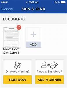 quickly sign legal documents using your iphone With sign documents fast