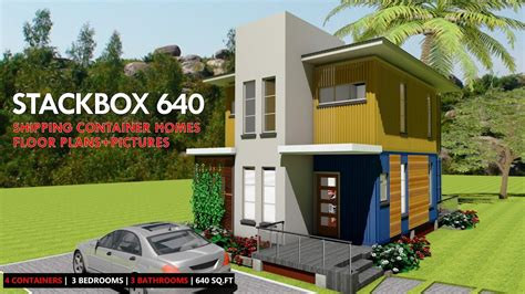 shipping container homes plans  modular prefab design ideas stackbox  youtube