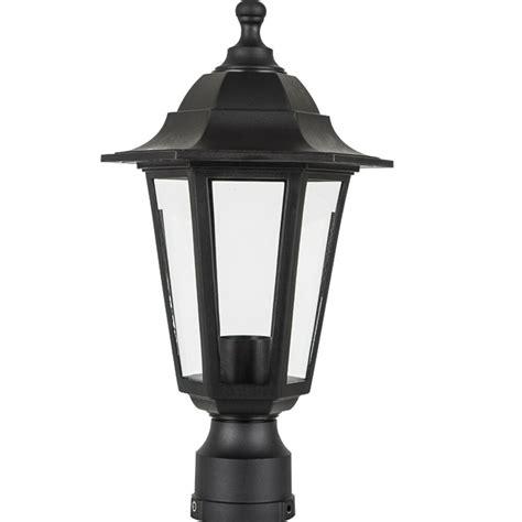 outdoor lamp fixture post  antique pole mount