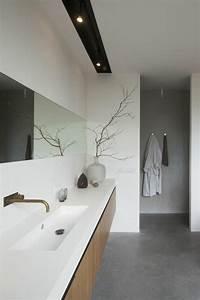 Deco Salle De Bain Gris : comment cr er une salle de bain zen ~ Farleysfitness.com Idées de Décoration