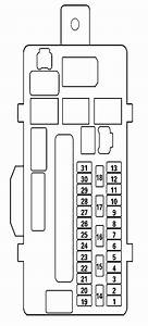 Acura Tl  2013 - 2014   U2013 Fuse Box Diagram