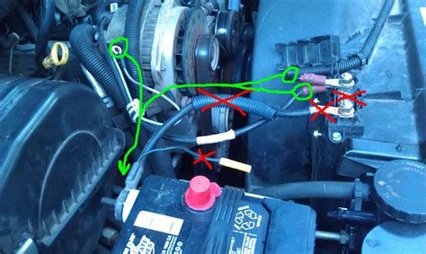 1997 Gmc Suburban Headlight Wiring Harnes by Electrical What Is The Correct Factory Wiring For A