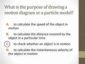 What Is The Purpose Of Drawing A Motion Diagram