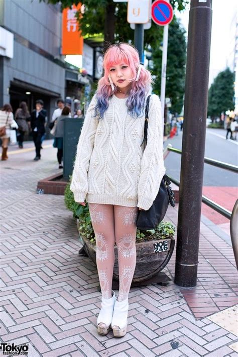 Cable Knit Sweater In Shibuya I Love This Style Of Hair