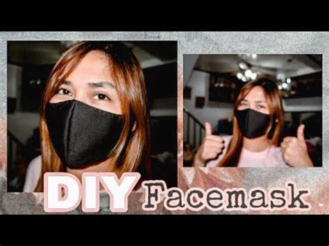 diy face mask  sewing machine needed bheng diaries