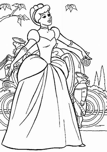 Princess Coloring Activity Disney Child Cinderella Support