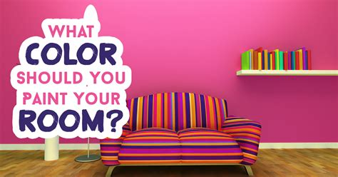 What Color Should You Paint Your Room? Question 22 Pick