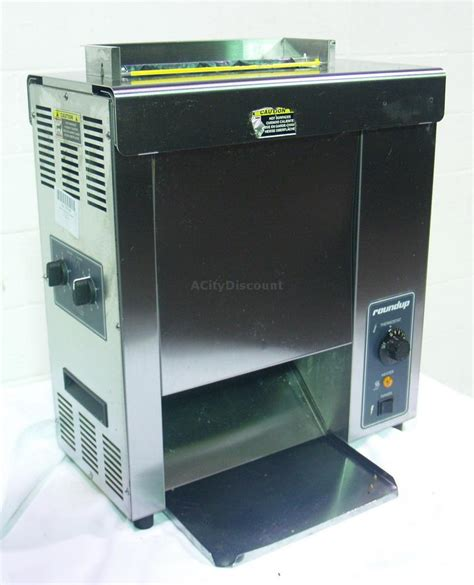 used commercial toaster used roundup vct 1000cv commercial countertop vertical