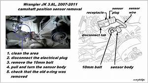 Jeep Wrangler Jk 2007 To Present How To Replace Camshaft Position Sensor