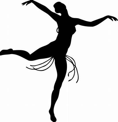 Dancer Silhouette Clipart Pose Vector Ballet Clip