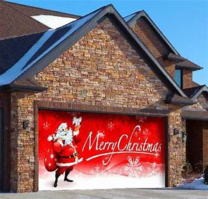 1000 images about christmas garage door decor on With decorating outdoor garage lights for christmas