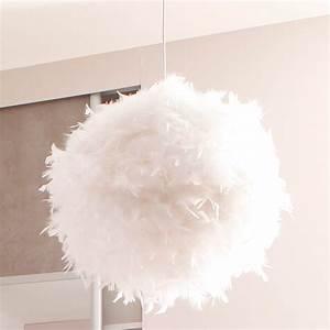 Lustre En Plume : luminaires suspension plume ~ Teatrodelosmanantiales.com Idées de Décoration