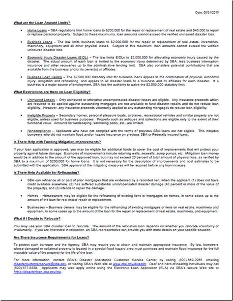 montgomery county added  sba disaster declaration