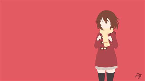 Erased Anime Wallpaper - kayo hinazuki erased minimalist anime by lucifer012 on